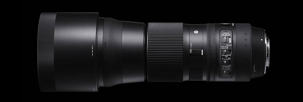 Sigma 150-600mm F5-6,3 DG OS HSM Contemporary