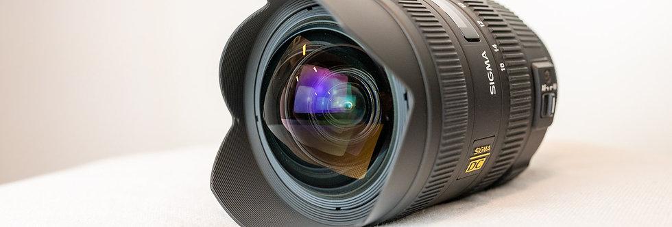 Sigma 8-16mm F4,5-5,6 DC Sony A-Mount