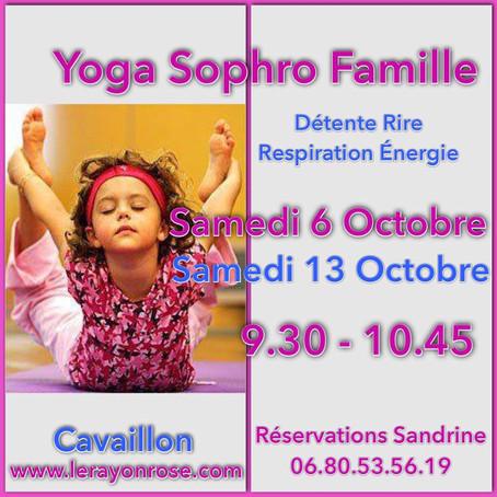 La joie de pratiquer le yoga ou/et la sophrologie avec ses enfants