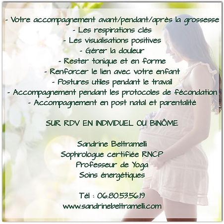 Yoga Sophro Grossesse Sandrine Shanti Be