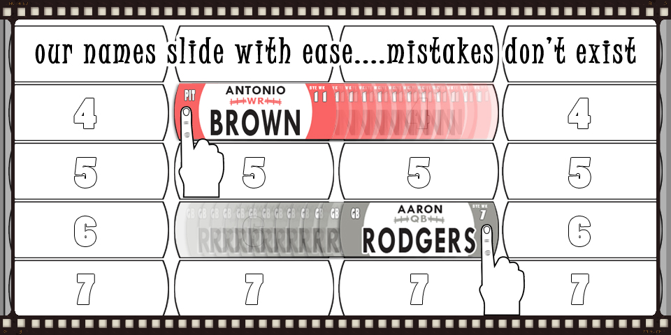 Eliminate mistakes and sloppy boards