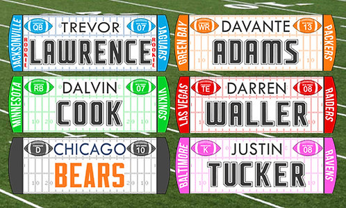 *NEW*  2021/22 Football Magnets w/ New Rookie Class