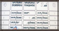 Writeable / Erasable Board