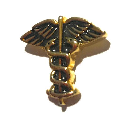 Doctor's Lapel pin Golden