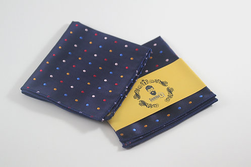 Presidential Dark Blue Pocket Square