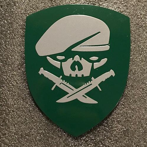 MOH Green Metal Emblem