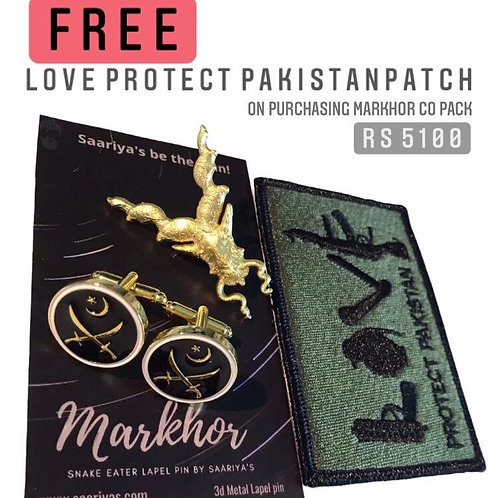 Markhor CO Combo Pack with Free Patch