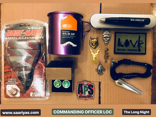 "Commanding Officer LOC ""The Long Night"""