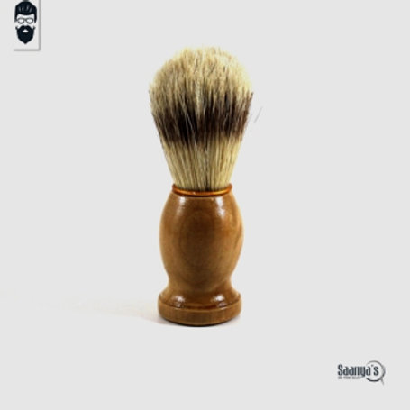 Pure Wood & Bristles Shaving Brush