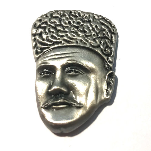 Iqbal Purisiraar Badge Silver