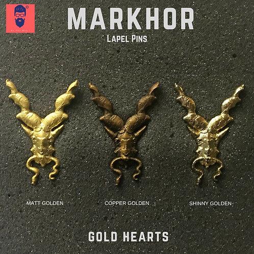 Markhor Gold Hearts Combo