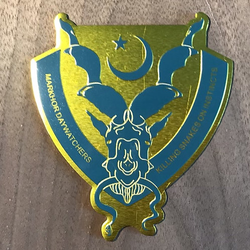 Markhor DayWatchers Metal Emblem