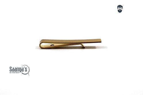 Golden Strip Tie Clip