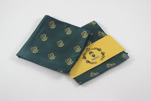 Presidential Green Pocket Square