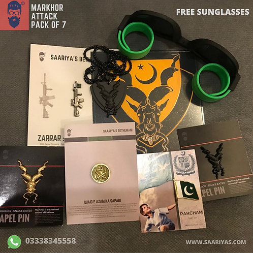 Markhor Attack Pack
