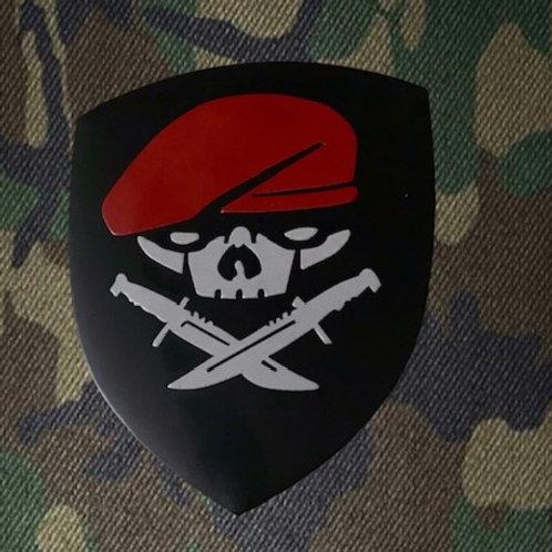 Maroon Berets Metal Emblem