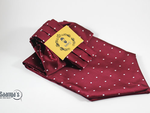 Brisky Maroon Cravat