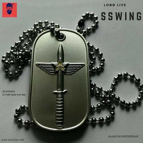 SS Wing Dogtag Locket
