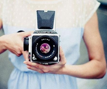 Older model hasselblad video camera