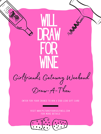 will draw for wine girlfriends getaway