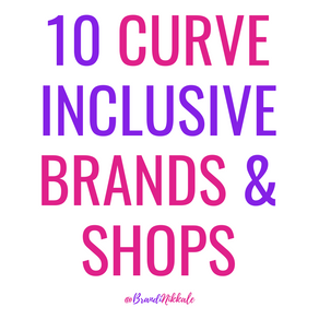 10 Curve Inclusive Brands & Shops