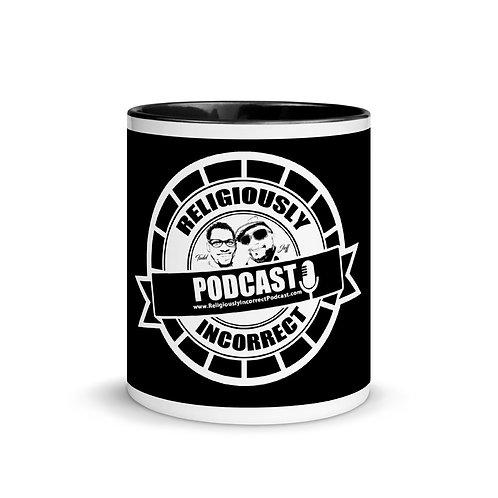Religiously Incorrect Podcast Branded Mug d