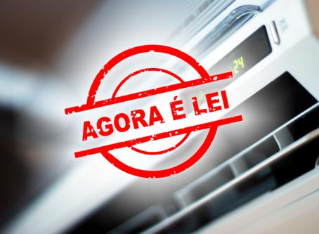 Lei 13.589/2018 – PMOC – torna-se obrigatória a manutenção de sistemas de ar condicionado