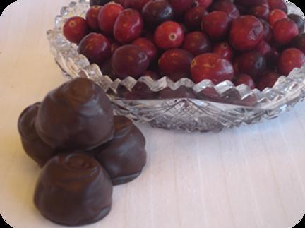 Cranberry Truffles