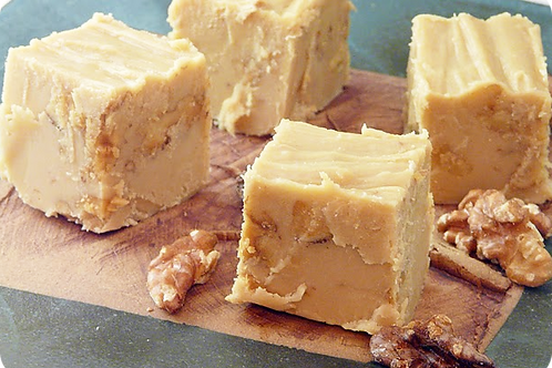 White Chocolate Fudge With Nuts
