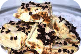 Turtle Cheesecake Fudge