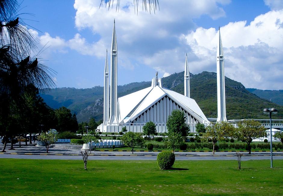 Мечеть Фейсал. Исламабад