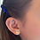 Thumbnail: Mini Dog Stud Earrings