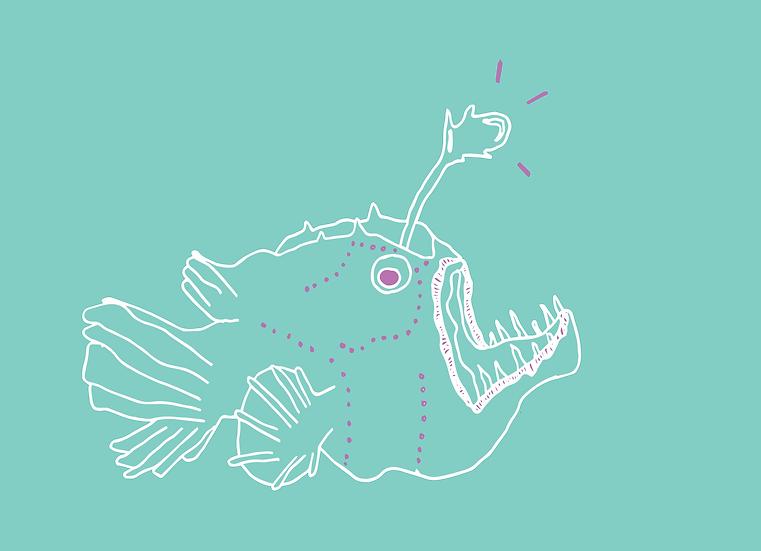 Angler (teal)