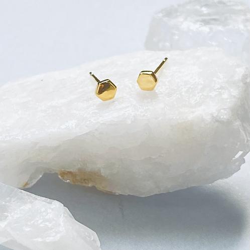 Mini Screwhead Stud Earrings