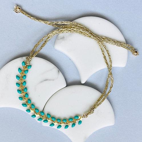 Wisteria Emerald Green Friendship Bracelet
