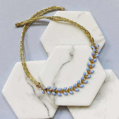 Wisteria Tanzanite Pale Blue Friendship Bracelet