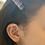 Thumbnail: Mini Music Note Stud Earrings