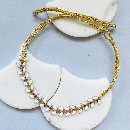 Wisteria Pure White Friendship Bracelet