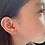 Thumbnail: Mini CZ Cat Stud Earrings