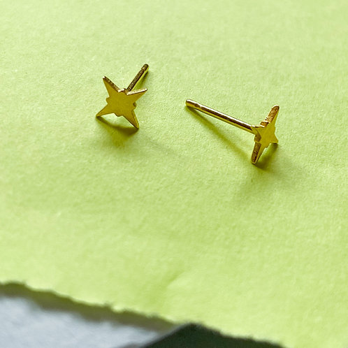 Mini Northstar Stud Earrings