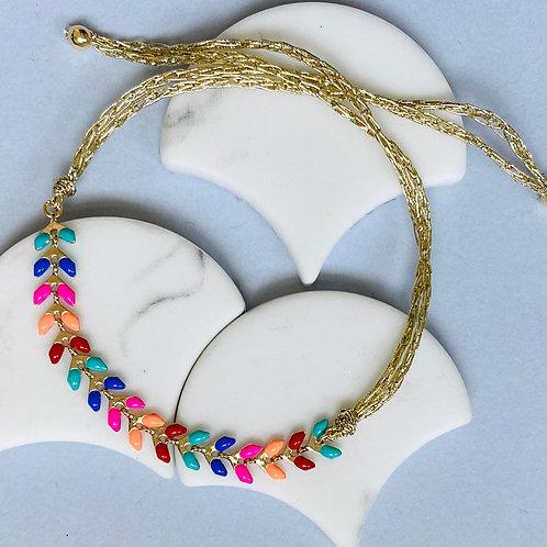 Wisteria Bright Multi Coloured Friendship Bracelet