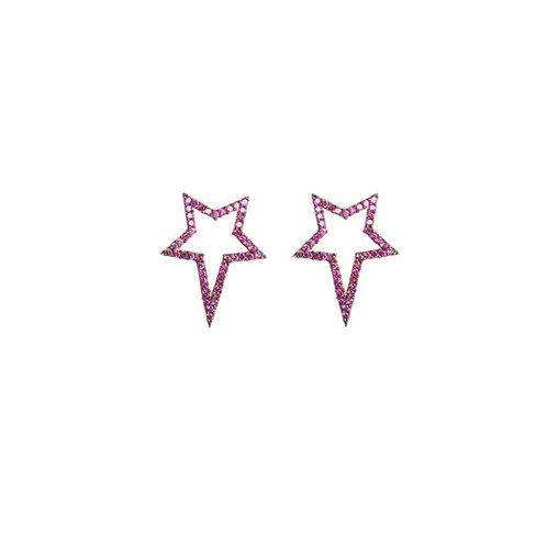 Pink Popstar Studs