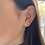 Thumbnail: Mini Star Cluster Stud Earrings