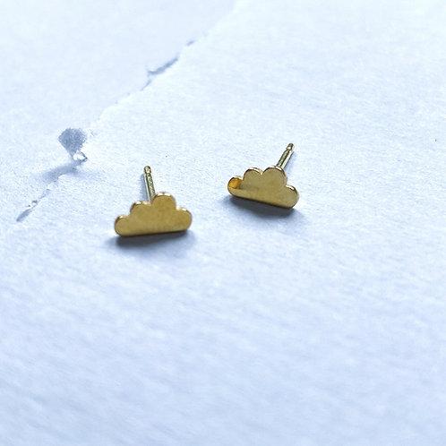 Mini Cloud Stud Earrings
