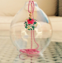 Liberty Button Round Necklace