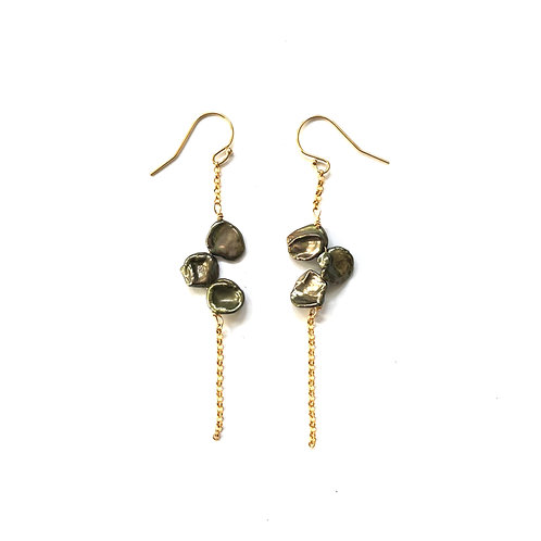 Olive Keshi Earrings