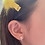 Thumbnail: Mini Tennis Racket Stud Earrings