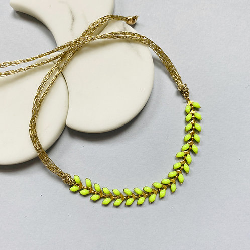 Wisteria Neon Yellow Friendship Bracelet