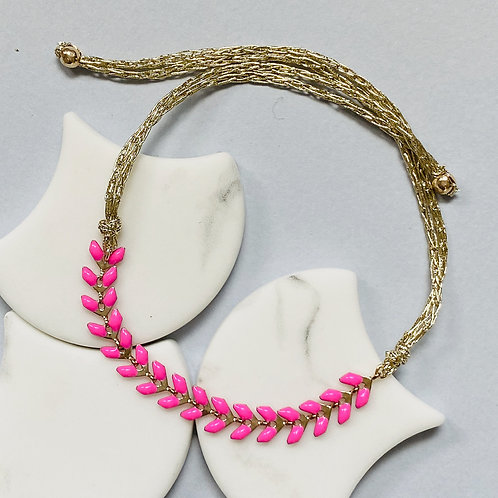 Wisteria Bright Pink Friendship Bracelet