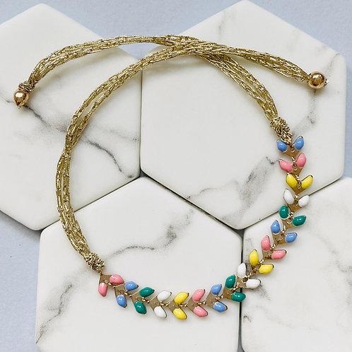 Wisteria Spring Multi Coloured Friendship Bracelet
